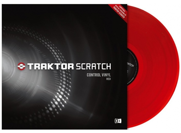 Native Instruments Traktor Scratch Vinyl Red MkII