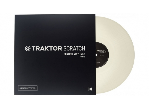 Native Instruments Traktor Scratch Vinyl Wh MkII