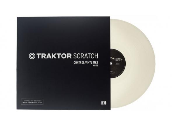 Outros acessórios Native Instruments Traktor Scratch Vinyl Wh MkII
