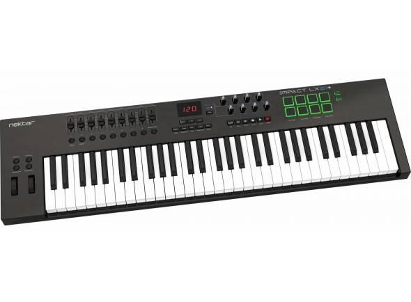 Teclados MIDI Controladores Nektar Impact LX61+
