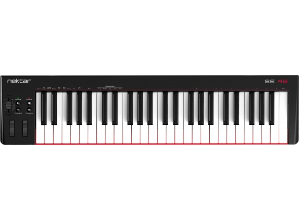 Teclados MIDI Controladores Nektar SE49