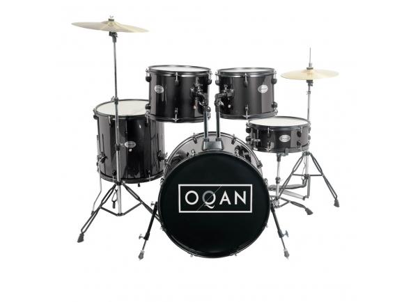 Conjunto de bateria completo OQAN  BASIC NEGRA QPA-10
