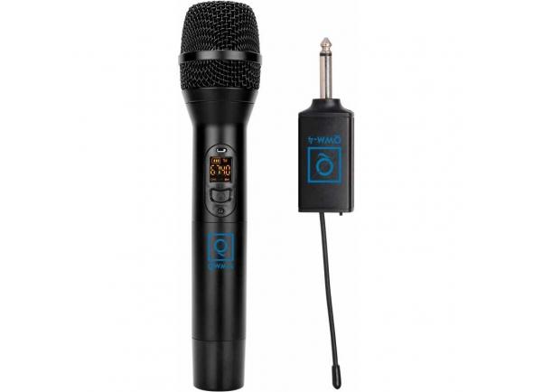 Microfones para sistema sem fios OQAN QWM-4 (863-865 MHZ)