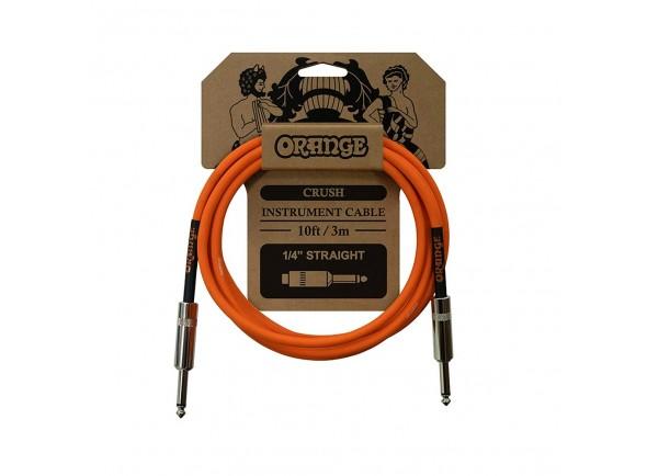 Cabo para Instrumento Orange Cable Crush 10ft Instr Jack 3m