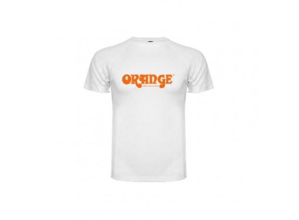 T-shirts Orange Camisola branca L