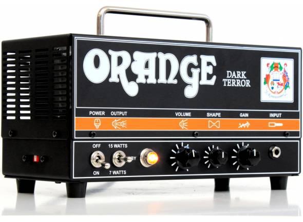 Cabeças de guitarra a válvulas Orange DARK TERROR
