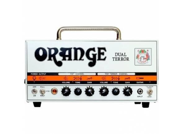 Orange DUAL TERROR HEAD   Uma vez que os amplificadores com a cor não convencional retornaram, eles estão lutando por seu nicho em um mercado bem sucedido com grande sucesso. Assim como no passado, quando inúmeras estrelas usavam esses amplificadores, a Orange constrói amplificadores com um som inconfundível para pessoas que sabem exatamente o que querem.