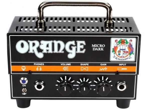 Cabeças de Guitarra Eléctrica Híbridas Orange Micro Dark