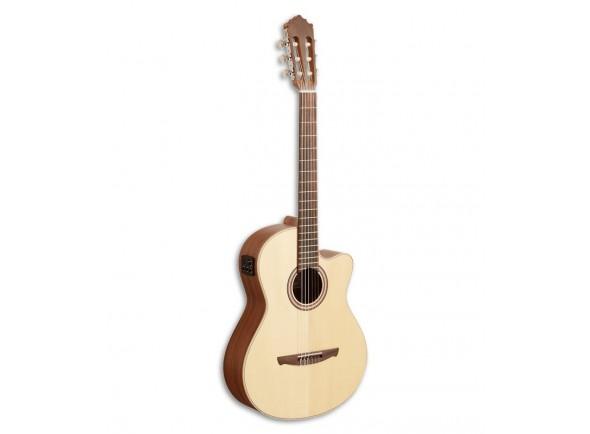 Guitarras clássicas eletrificadas Paco Castillo 221 CCE