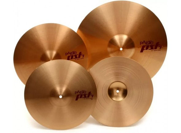 Conjunto de Pratos Paiste PST7 Set Medium