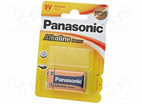 Pilhas Panasonic Alkaline 6LF22