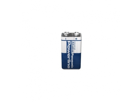 Panasonic Pilha Alcalina 9V 6Lr61 Powerline