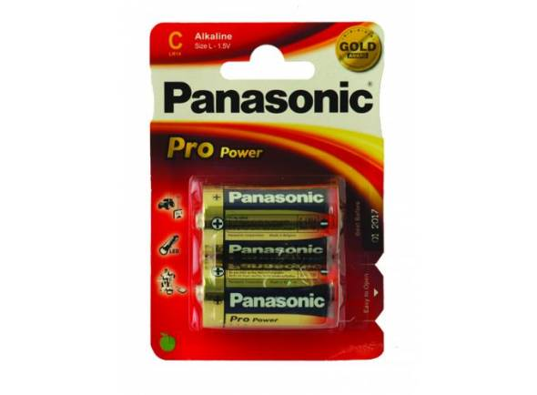 Pilhas Panasonic Pro Power LR14