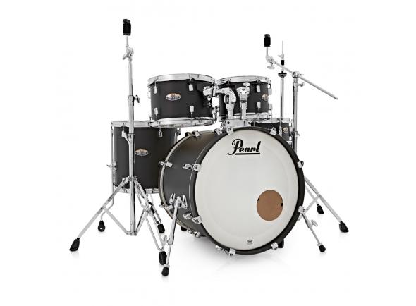 Conjunto de bateria completo Pearl Decade Maple Studio S. Black