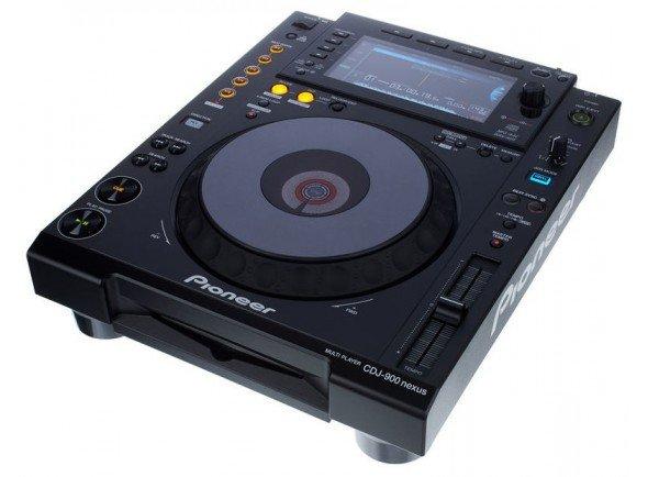 Pioneer CDJ-900NXS  Deck DJ digital de nível profissional. Ecrã LCD full-colour, Beat Divide, quatro decks Beat Sync. Reprodução de misturas a partir de um smartphone.   Leitor CDs/USB  Ecrãn colorido  Placa de som 24bit / 48 kHz