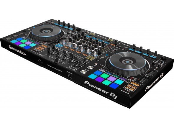 Pioneer DDJ-RZ   Controlador DJ Rekordbox 4 canais. Pads multicoloridos, slip mode, duas saídas Master e uma Booth. 1. OSC Sampler para manipulação aperfeiçoada de som. Ligação USB, crossfader magnético.
