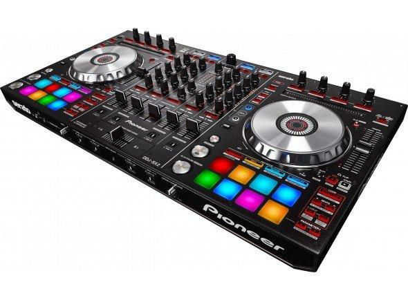Pioneer DDJ-SX2  Controlador de 4 canais Serato DJ com pads de alto desempenho, com botões dedicados para Serato Flip.