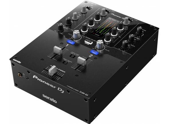 Pioneer DJM-S3  Mesa de mistura de 2 canais para o Serato DJ