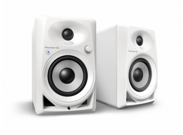 Monitores de estúdio activos Pioneer DM-40BT W