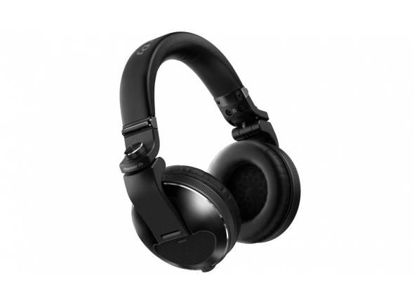 Pioneer HDJ-X10  Auscultadores profissionais sobre o ouvido de alta qualidade para DJ (Preto)
