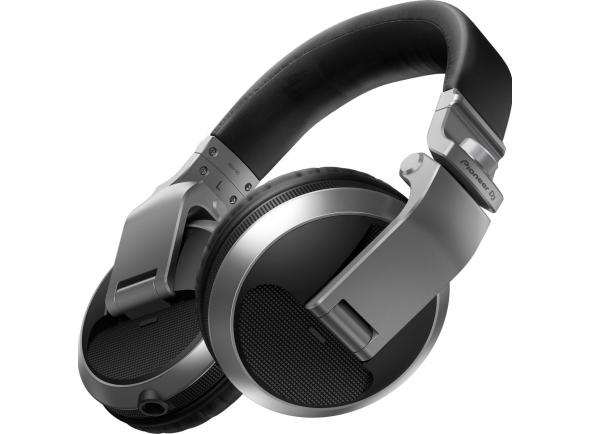 Pioneer HDJ-X5 S   Auscultadores sobre o ouvido para DJ.  Ouça as suas faixas com toda a clareza na cabine e na estrada com os HDJ-X5. Aproveitando as opiniões de DJs e analisando muitos estilos diferentes de monitorização, asseguramos que a nossa nova gama de auscultadores para DJ inclui todas as funcionalidades necessárias para atuar a qualquer nível. Graças ao design áudio de alta qualidade herdado dos nossos anteriores auscultadores profissionais para DJ, poderá usufruir de monitorização sem distorção, mesmo a volumes elevados, onde quer que vá.