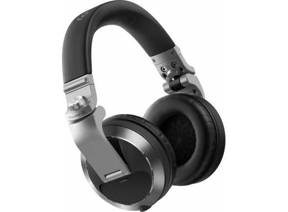 Pioneer HDJ-X7-S  Headphones Profissionais de DJ  Frequência : 5 - 30.000 Hz  Impedância: 36 ohms  Sensibilidade : 102 dB  Cabos destacáveis / Inclui bolsa de transporte