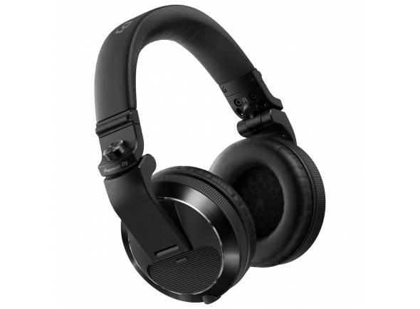 Pioneer HDJ-X7  Auscultadores profissionais sobre o ouvido para DJ (Preto)