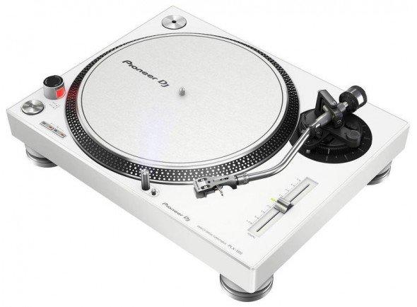 Gira-discos profissionais de Dj Pioneer DJ PLX-500-W