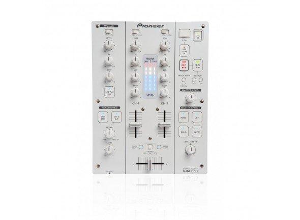 Pioneer DJM-350-W  Mesa de Mistura 2 Canais. Branca. Gravação directa para USB, Efeitos, Loop Sampler.