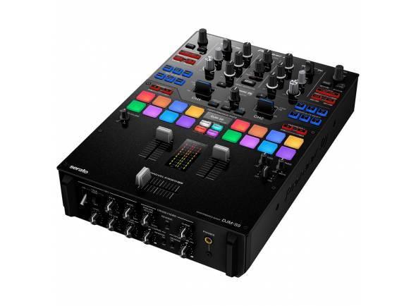 Pioneer DJM-S9  Mesa Mistura de 2 canais para Serato DJ, Magvel Fader Pro.  Configuração das Funções Curve e Reverse.  Perfomance Pads multicoloridos para atuações físicas.  Duas placas de som USB.