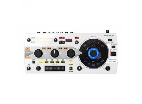 Pioneer RMX-1000-W  Processador de Efeitos multiúsos, totalmente customizado, Software de edição REMIXBOX, VST/AU plug-ins, X-PAD sensível ao toque, Botão Quantize, cartão SD, ligação USB-MIDI. Cor Branca.