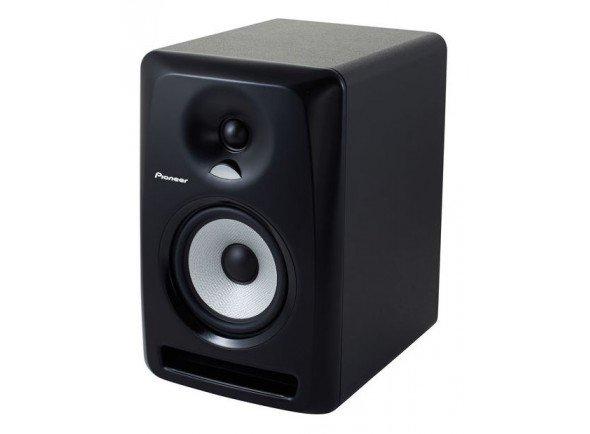 Pioneer S-DJ50X  Colunas de 2 vias com bi-amplificação. Tweeter com cúpula macia de 1 polegada. 50-20,000 Hz. 107 dB.