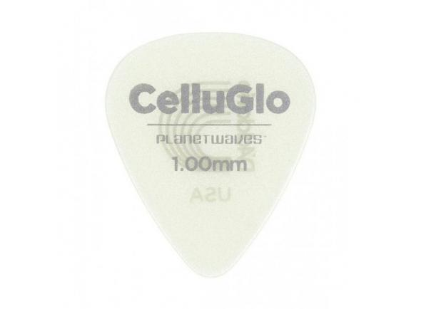 Palhetas para guitarra Planet waves 1CCG6-10 Cellu-Glo Picks Heavy
