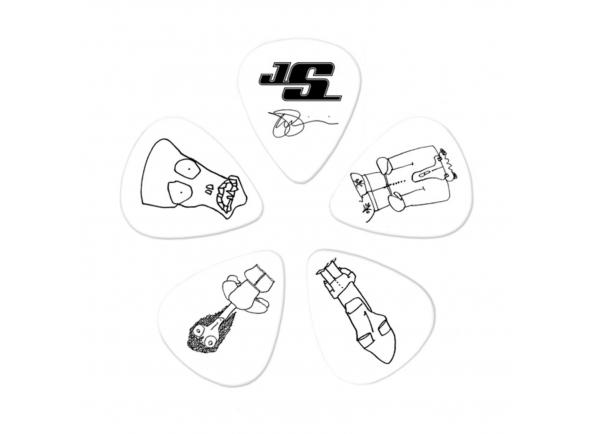 Planet waves Joe Satriani Picks 0,71 mm White Pack of 10