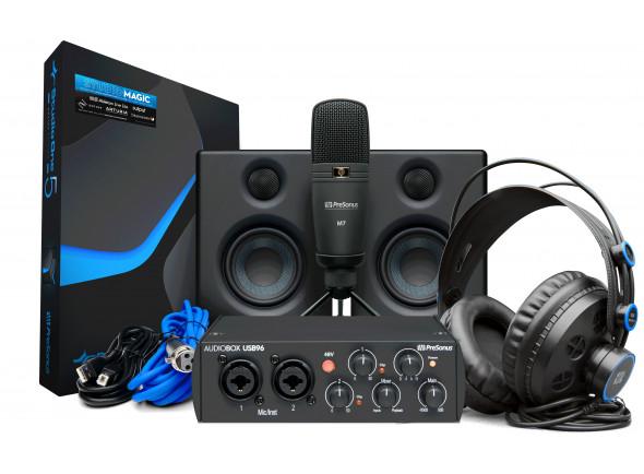 Interface Áudio USB Presonus  AudioBox 96 Studio Ult 25th An