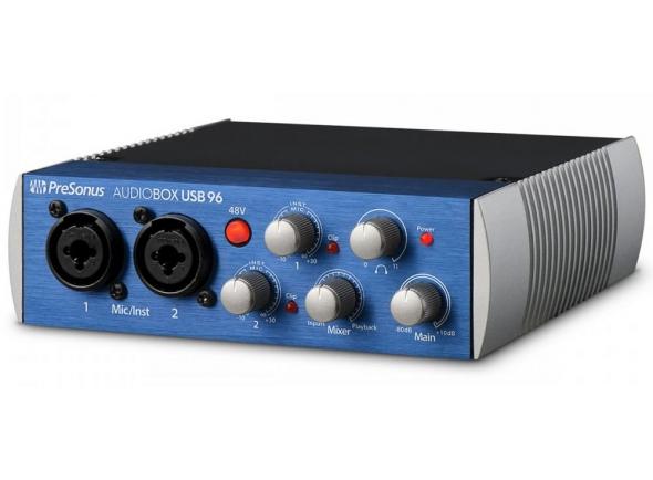Interface Áudio USB Presonus AudioBox USB 96