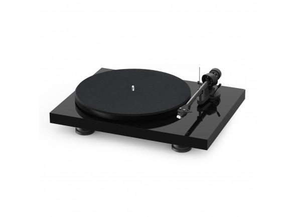 Gira-discos profissionais de Dj Project Debut Carbon Evo High Gloss Black