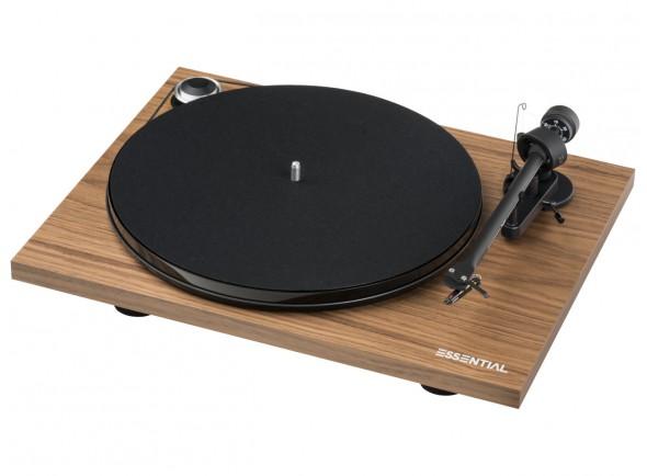 Gira-discos de alta fidelidade Project Essential III BT Walnut