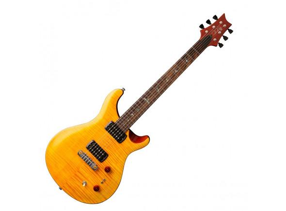 Guitarras formato Double Cut PRS SE Pauls Guitar Amber