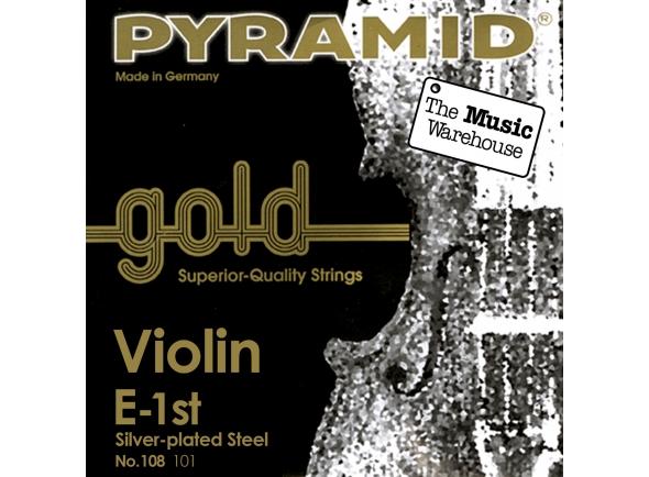 Cordas Pyramid Gold Violin Strings 4/4