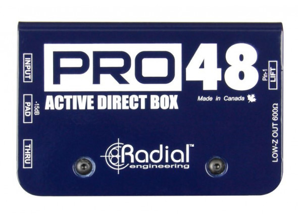 DI-Boxes Radial Engineering Pro 48