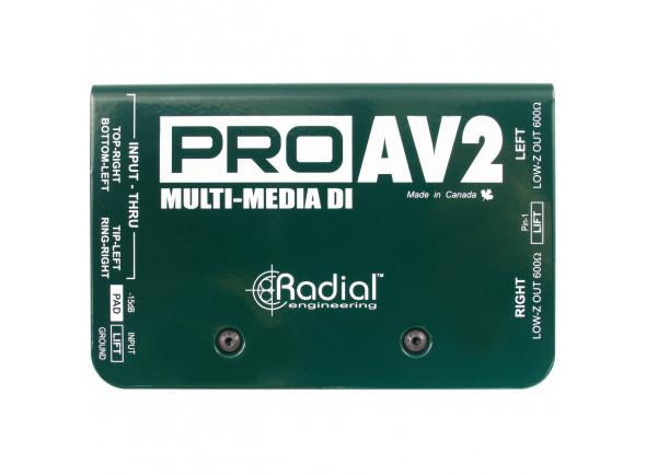 DI-Boxes Radial Engineering Pro AV2