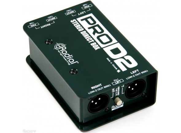 DI-Boxes Radial Engineering Pro D2