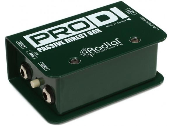 DI-Boxes Radial Engineering Pro DI