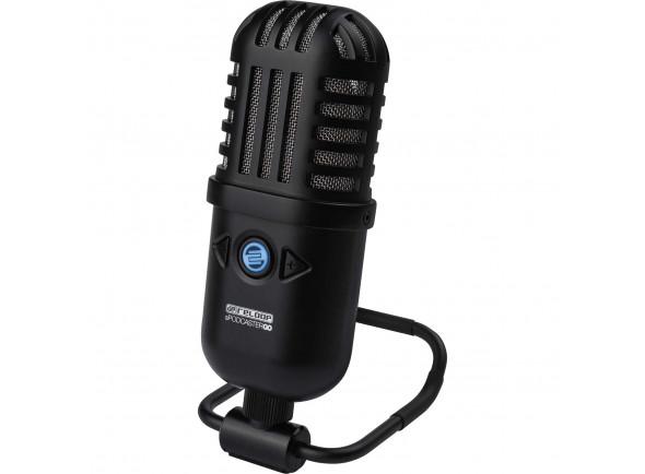 Microfone USB Reloop  sPodcaster GO
