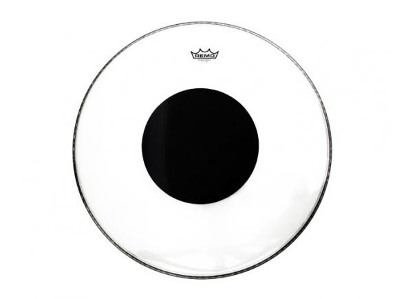 Remo  Pele para Bombo 22'  P3132210 Clear Black Dot