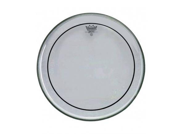 "Remo  Pele Timbalão 14'  PS031400 PINSTRIPE CLEAR  Pele de Timbalão Remo Pinstripe Clear 14"". Material: Duas camadas Mylar® 7 mil. Diâmetro: 14"". Cor: ."
