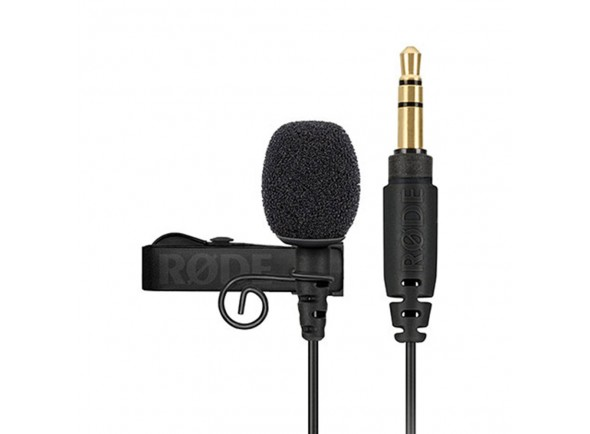 Microfone de lapela Rode Lavalier GO