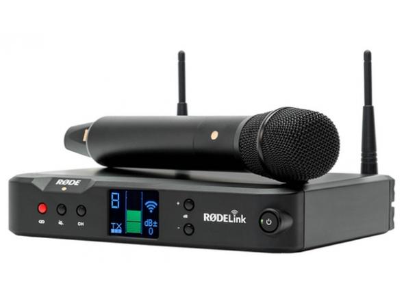 Sistema sem fios com microfone de mão Rode RodeLink Performer Kit