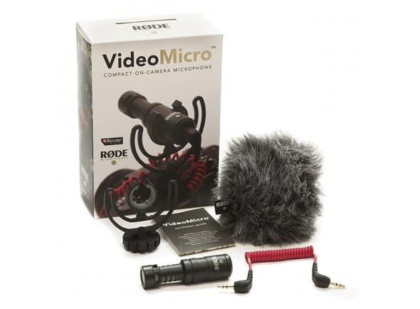 Microfone para Câmara Rode VideoMicro B-Stock